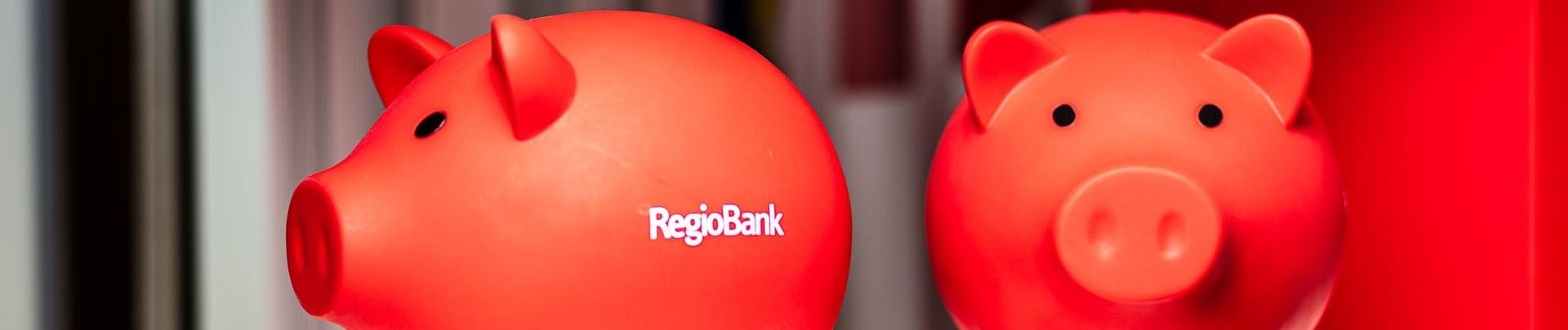 spaarvarkens van RegioBank